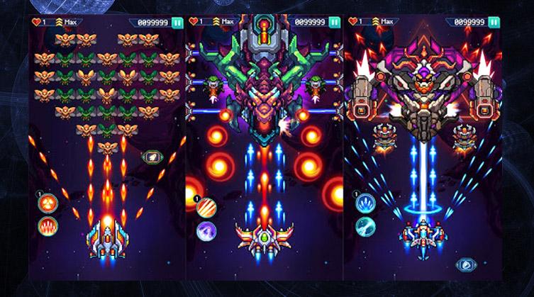 Galaxiga: Classic Arcade Shooter 80s