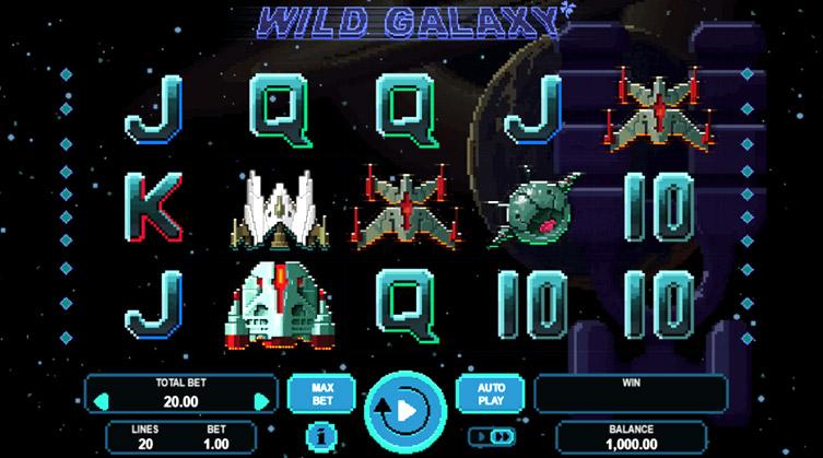 Wild Galaxy booongo